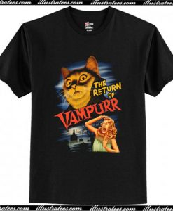 The Return of Vampurr T-Shirt Ap