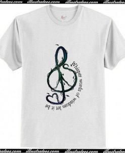 Whisper Words Of Wisdom Let It Be T-Shirt Ap