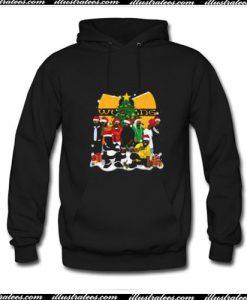 Wu Tang clan Christmas Hoodie Ap