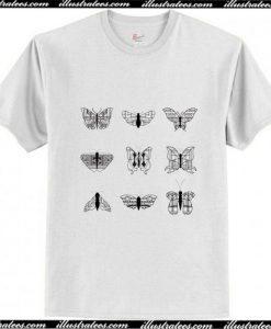 wright's butterflies T-Shirt aP
