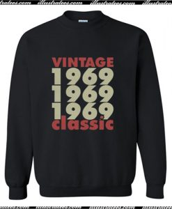 1969 – 2019 50 Years Perfect Trending Sweatshirt Ap