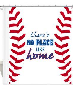 Baseball Shower Curtain AI