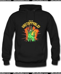 T-Rex now I am unstoppable Hoodie Ap