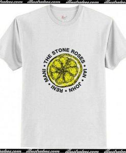 The Stone Roses – Lemon Names T-Shirt Ap