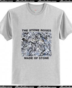 The Stone Roses Grey T-Shirt Ap
