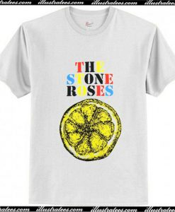 The Stone Roses Lemon T-Shirt Ap