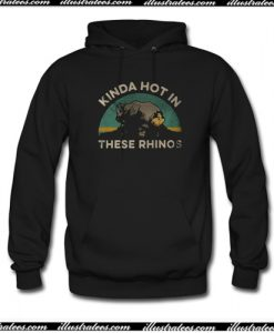 Ace Ventura kinda hot in these rhinos retro Hoodie AI