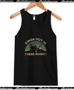 Ace Ventura kinda hot in these rhinos retro Tank Top AI