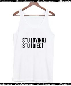 Studying Studied Tank Top AI