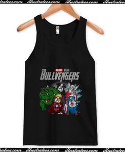 The Avengers Bulldog Bullvengers Tank Top AI