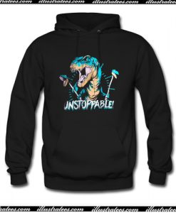 Unstoppable T Rex Hoodie AI