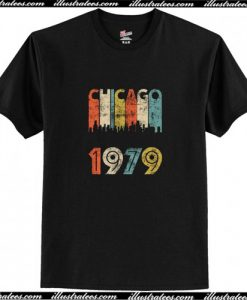 Vintage Chicago 1979 T-Shirt AI