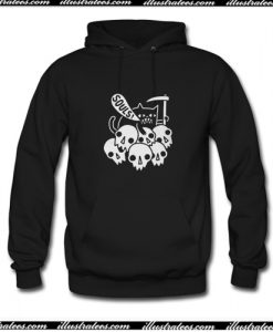 Cat Got Your Soul Fitted Hoodie AI