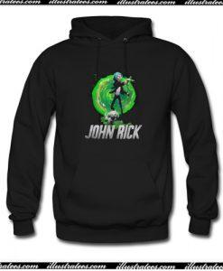 John Rick Rick and Morty Hoodie AI