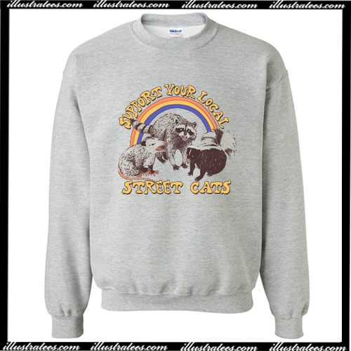 Street Cats Sweatshirt AI