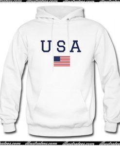 USA American Flag Hoodie AI
