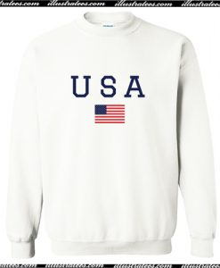 USA American Flag Sweatshirt AI