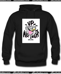 Up All Night Hoodie AI