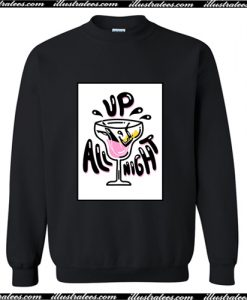 Up All Night Sweatshirt AI