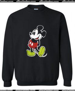 Vintage Disney Mickey Mouse Sweatshirt AI