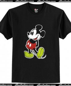 Vintage Disney Mickey Mouse T Shirt AI