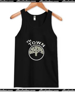 Warriors the Town Tank Top AI