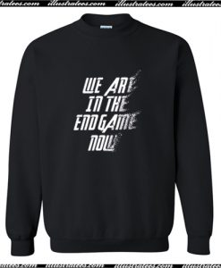 We Are In The Endgame Now Sweatshirt AI