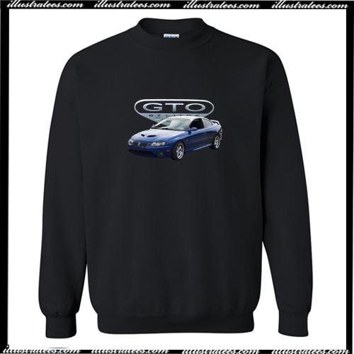 2006 blue GTO Crewneck Sweatshirt AI