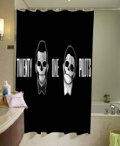 21 pilots Shower Curtain AI