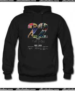 22 Years Of Harry Potter 1997 2019 Signature Hoodie AI