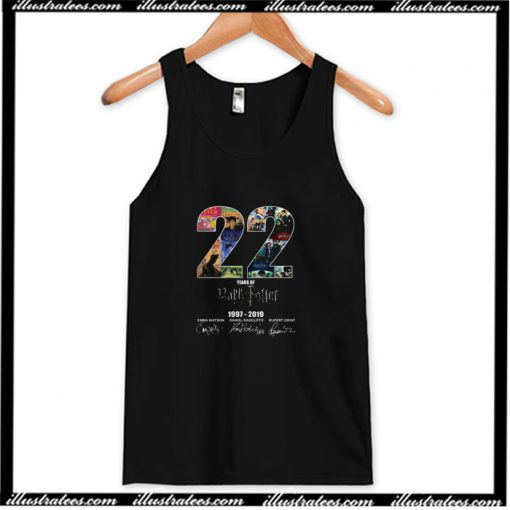 22 Years Of Harry Potter 1997 2019 Signature Tank Top AI