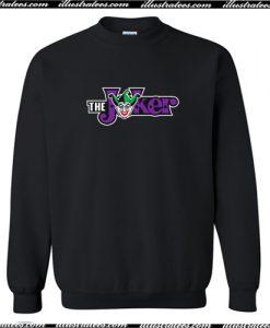The Joker Logo Crewneck Sweatshirt AI