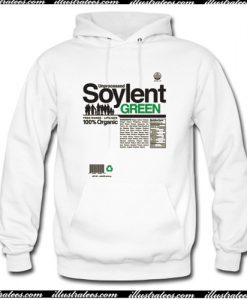 Unprocessed Soylent Green Hoodie AI