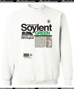 Unprocessed Soylent Green Sweatshirt AI