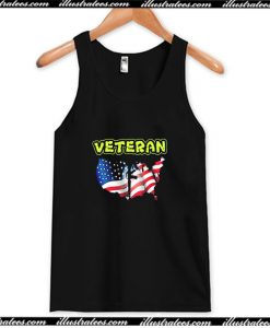 Wear This I Am a Veteran Tank Top AI