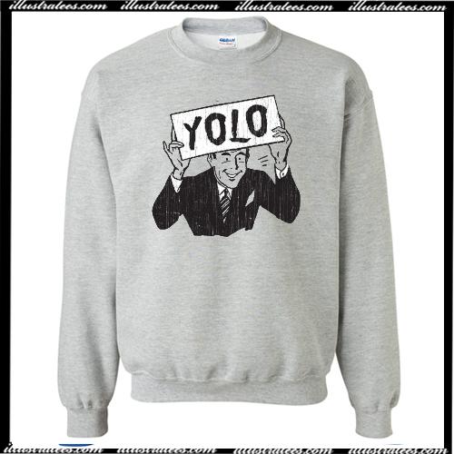Yolo Crewneck Sweatshirt AI