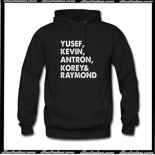 Yusef Kevin Antron Korey Raymond Hoodie AI