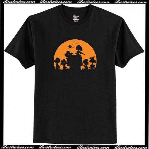 Zombie Charlie Brown Halloween T-Shirt AI