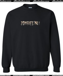 Zombies Sweatshirt AI