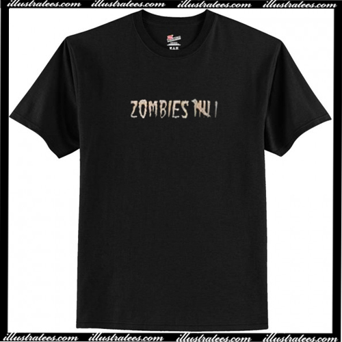Zombies T Shirt AI