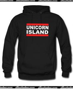 unicorn island Hoodie AI
