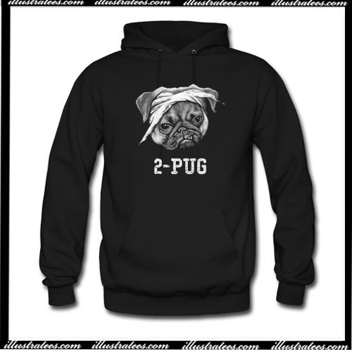 2-Pug Hoodie AI