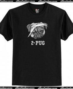 2-Pug T-Shirt AI