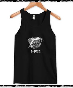 2-Pug Tank Top AI