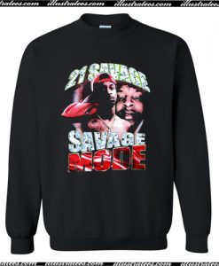 21 Savage Mode Sweatshirt AI
