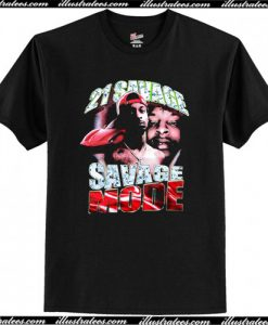 21 Savage Mode T-Shirt AI