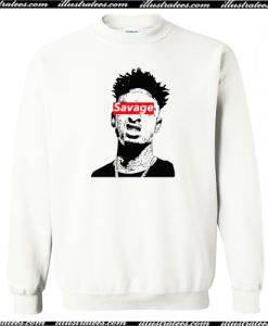 21 Savage Sweatshirt AI
