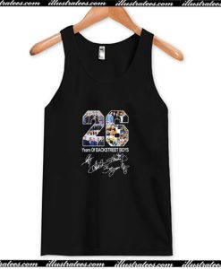 26 Years of Backstreet Boys All Signatures Tank Top AI