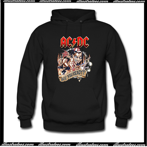 ACDC Are You Ready Hoodie AI