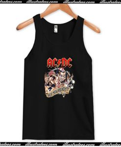 ACDC Are You Ready Tank Top AI